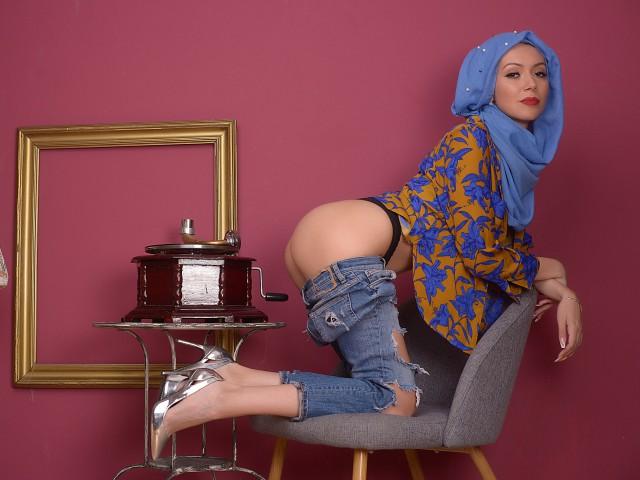 Web cam star NadeenMuslim 25 age